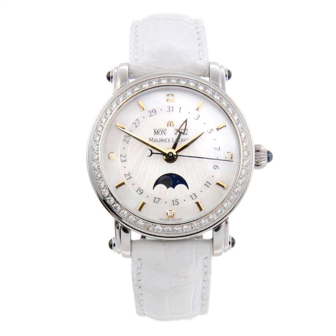MAURICE LACROIX - a lady's Masterpiece wrist watch.