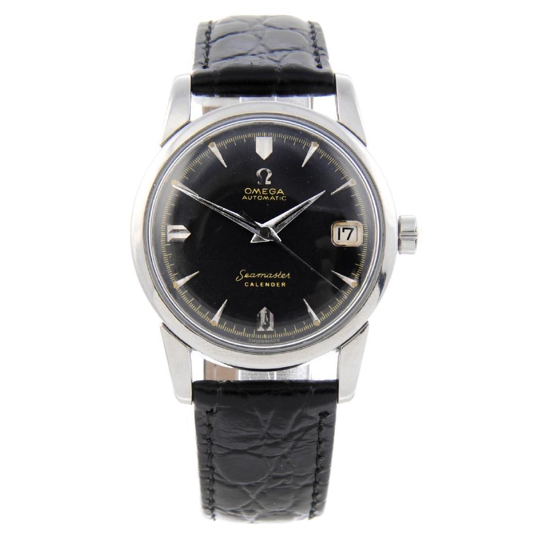 OMEGA - a gentleman's Seamaster Calender wrist watch.