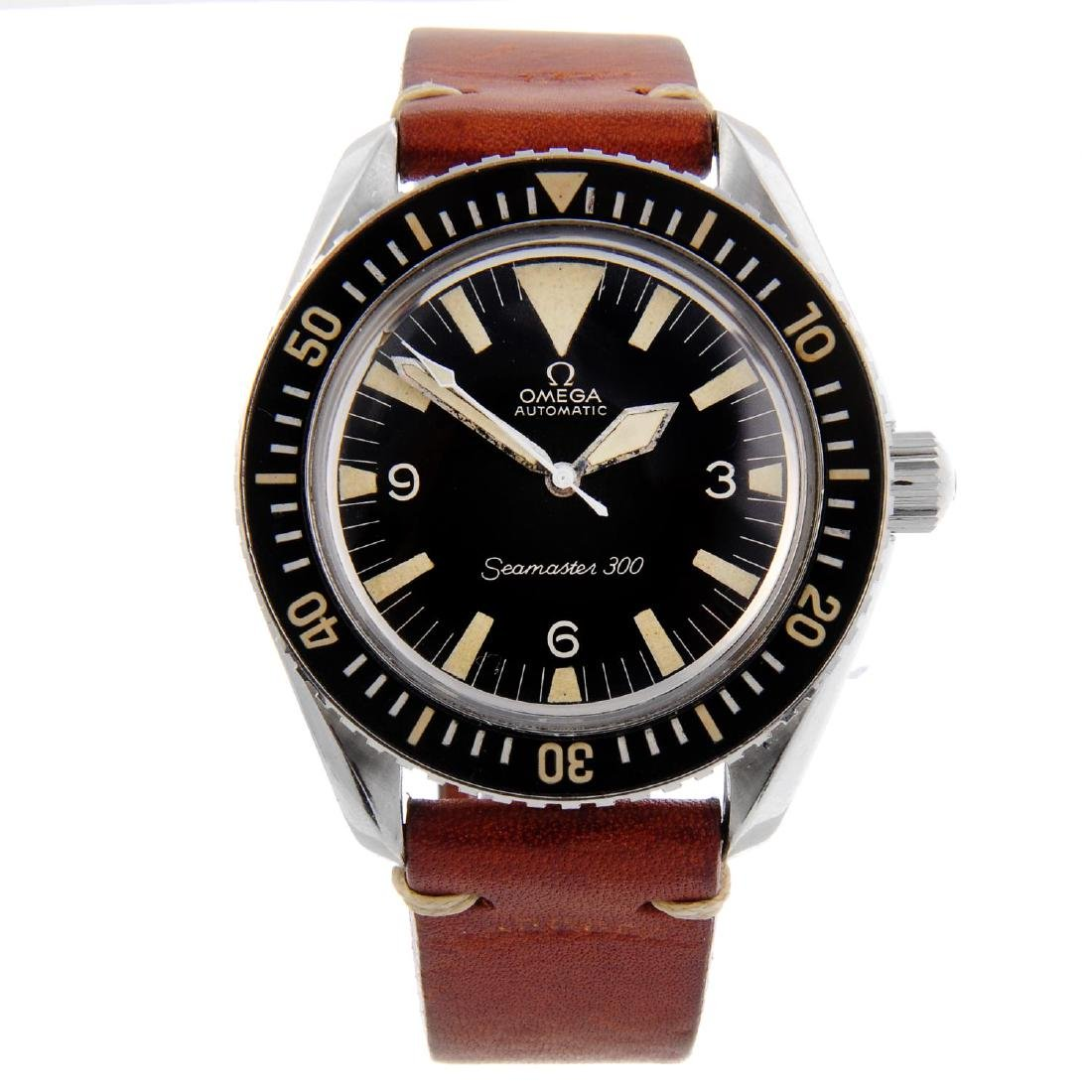 OMEGA - a gentleman's Seamaster 300M 'Big Triangle'