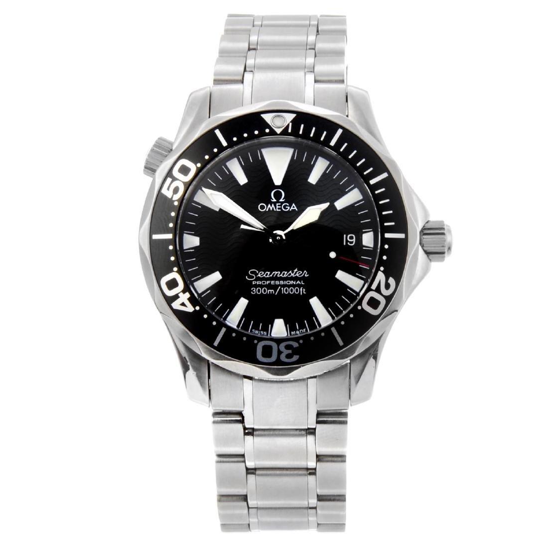 OMEGA - mid-size Seamaster Professional 300M bracelet