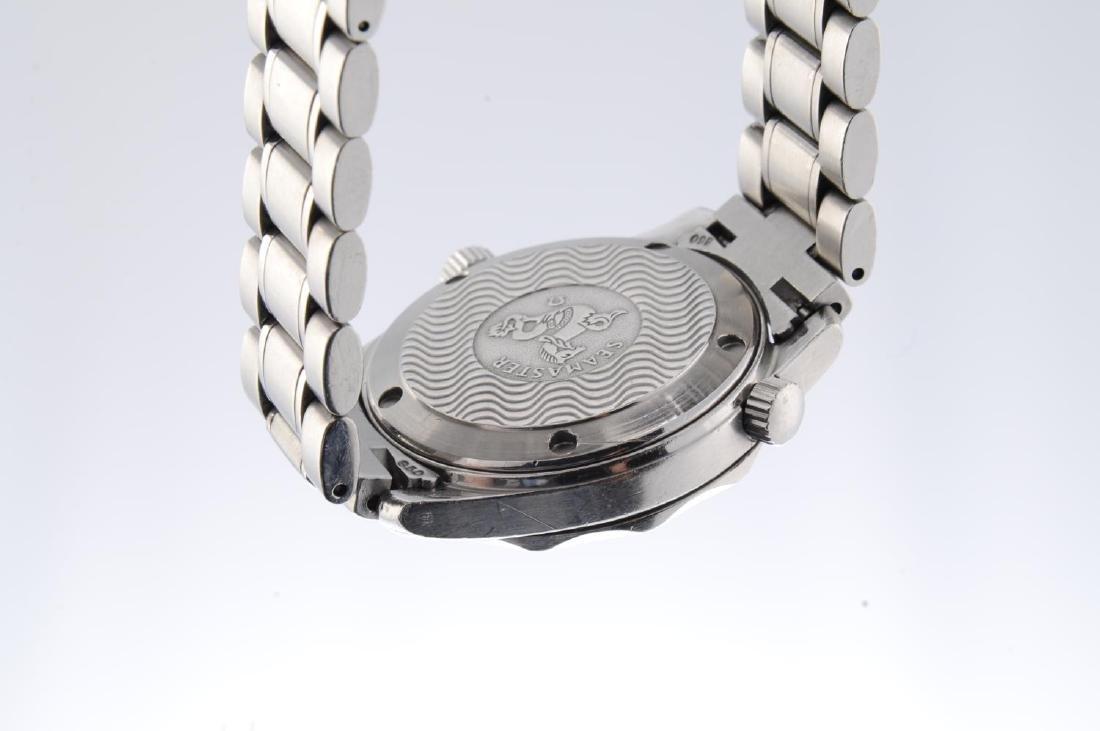OMEGA - a mid-size Seamaster 300M bracelet watch. - 3