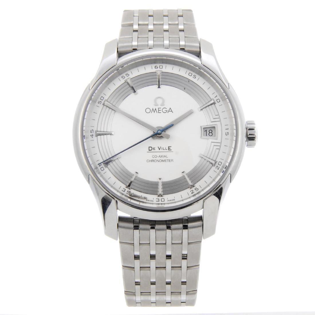OMEGA - a gentleman's De Ville Co-Axial bracelet watch.