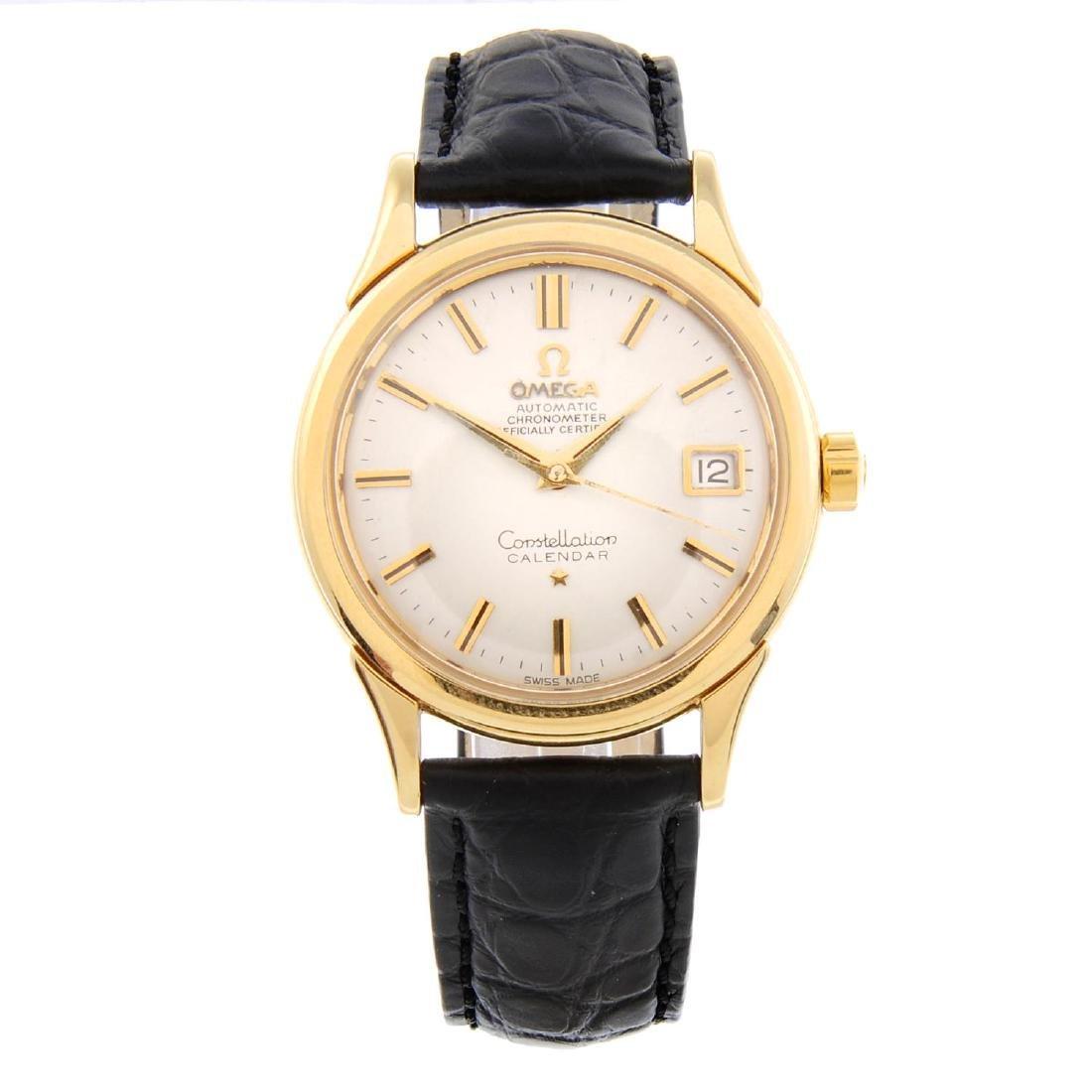 OMEGA - a gentleman's Constellation Calendar wrist