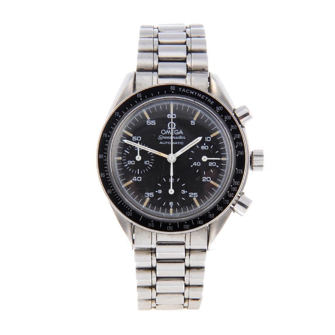 OMEGA - a gentleman's Speedmaster chronograph bracelet