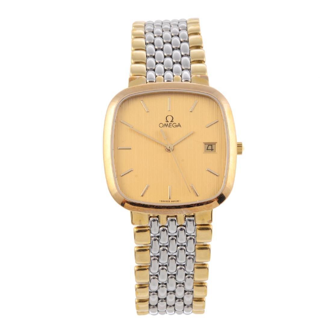 OMEGA - a gentleman's De Ville bracelet watch.