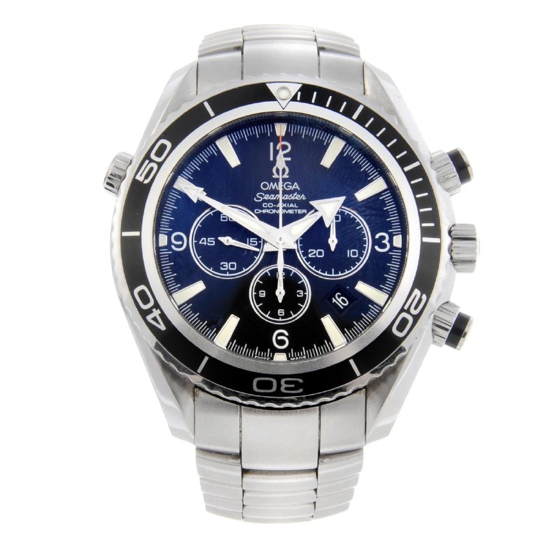 OMEGA - a gentleman's Seamaster Planet Ocean Co-Axial