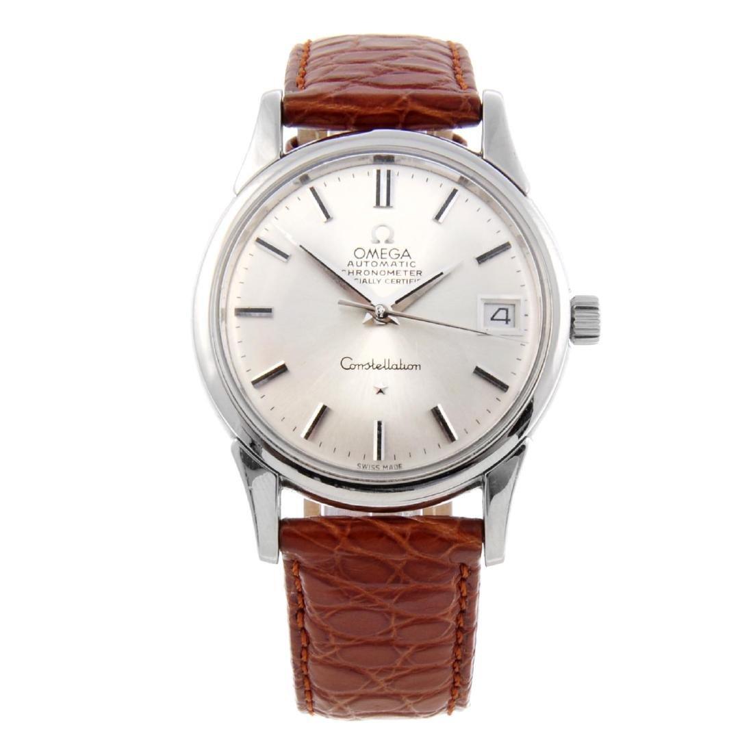OMEGA - a gentleman's Constellation wrist watch.