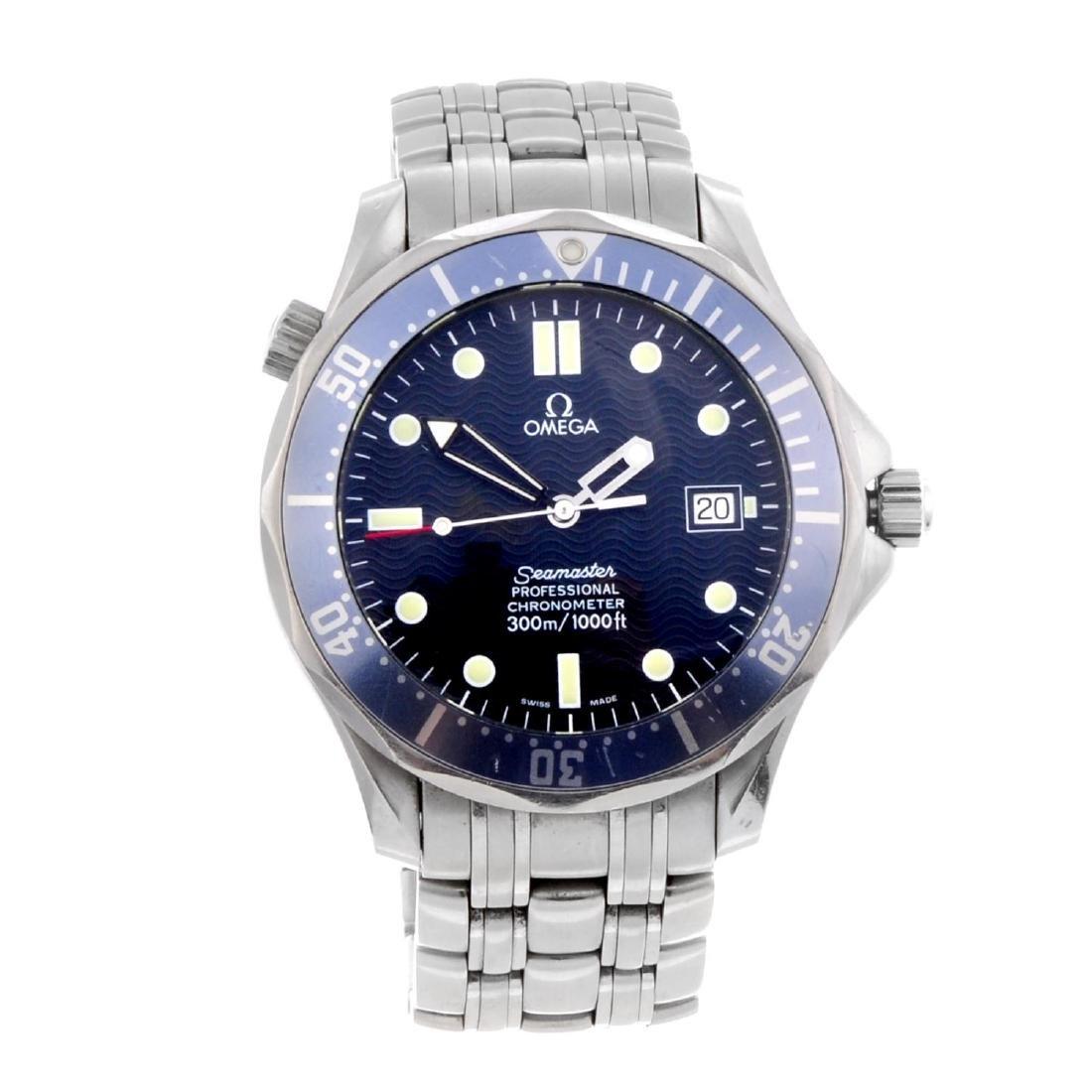 OMEGA - a gentleman's Seamaster Professional 300M