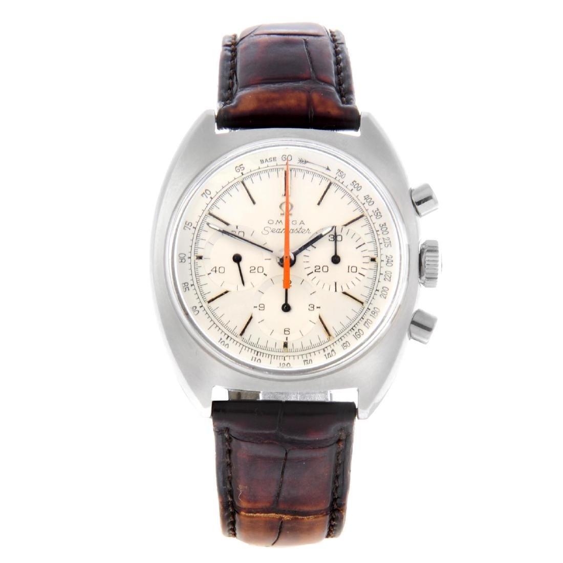 OMEGA - a gentleman's Seamaster chronograph wrist