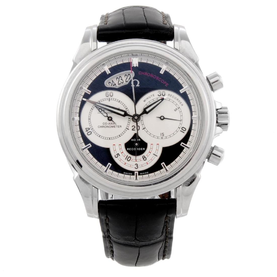 OMEGA - a gentleman's De-Ville Co-Axial Chronoscope