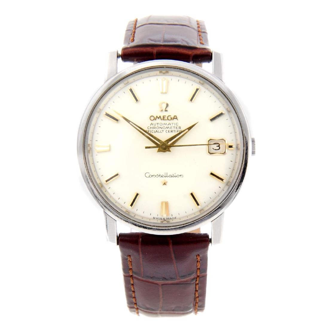 OMEGA - a gentleman's Constellation wrist watch.