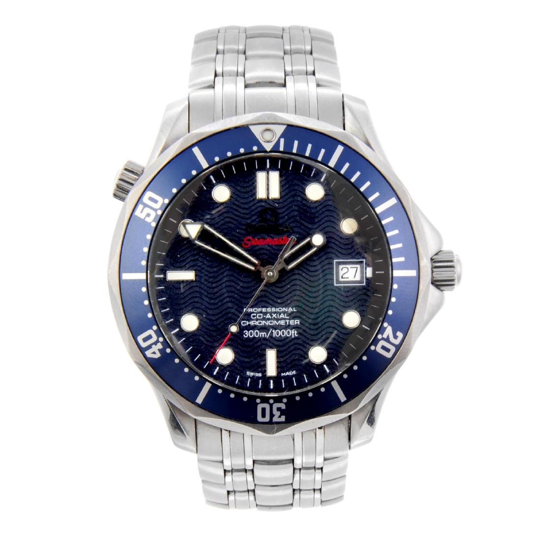 OMEGA - a gentleman's Seamaster Professional Co-Axial