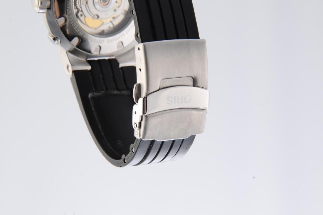 ORIS - a gentleman's TT1 Worldtimer wrist watch. - 4