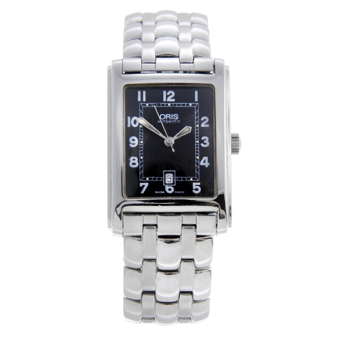 ORIS - a gentleman's Classic bracelet watch. Stainless