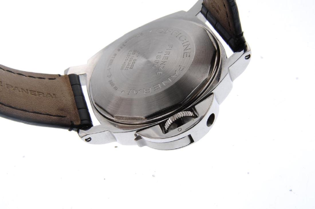PANERAI - a gentleman's Luminor Marina wrist watch. - 3