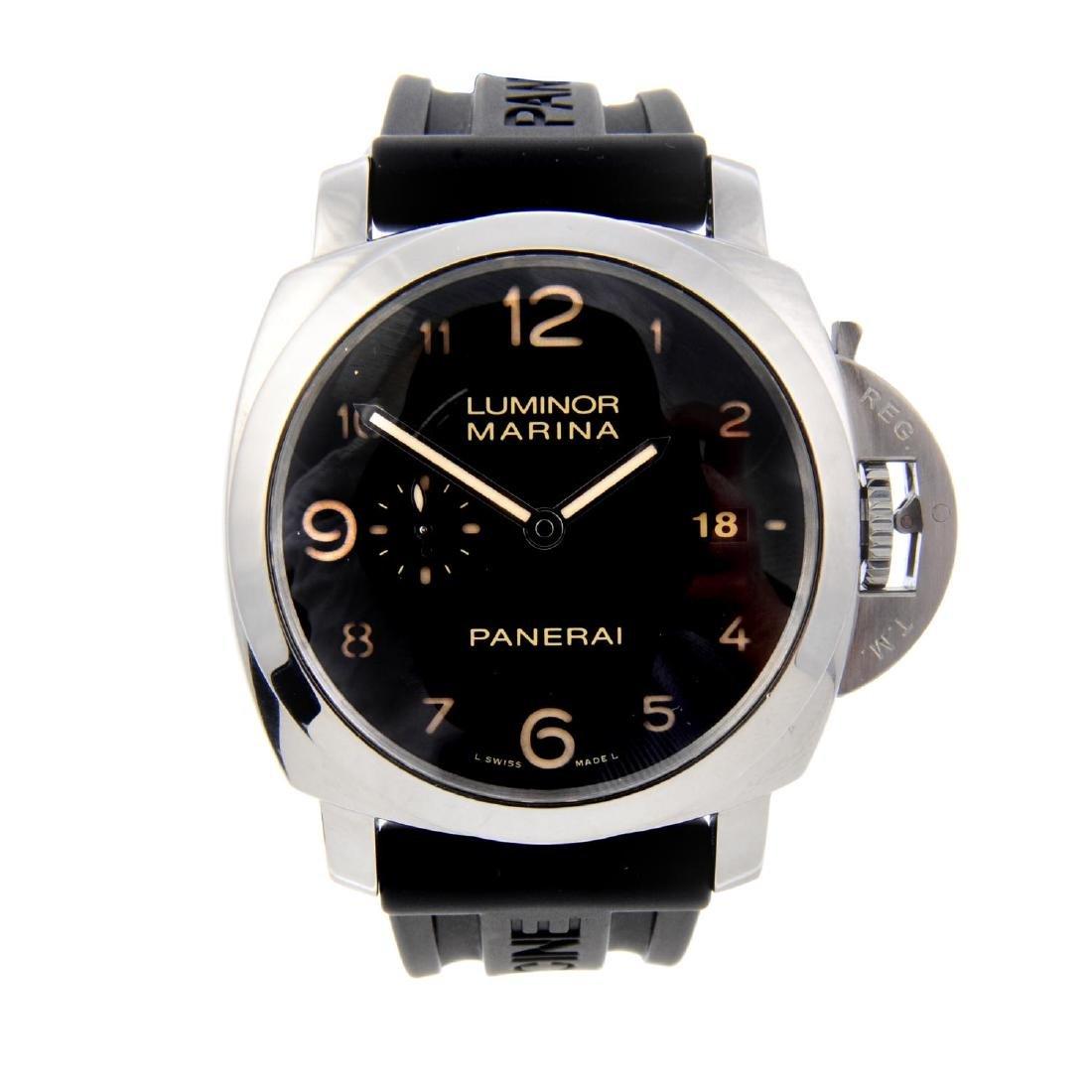 PANERAI - a gentleman's Luminor Marina 1950 wrist