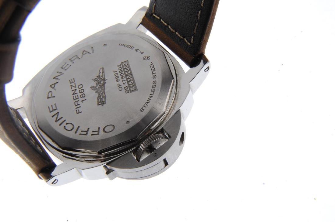 PANERAI - a gentleman's Luminor 8 Days wrist watch. - 3