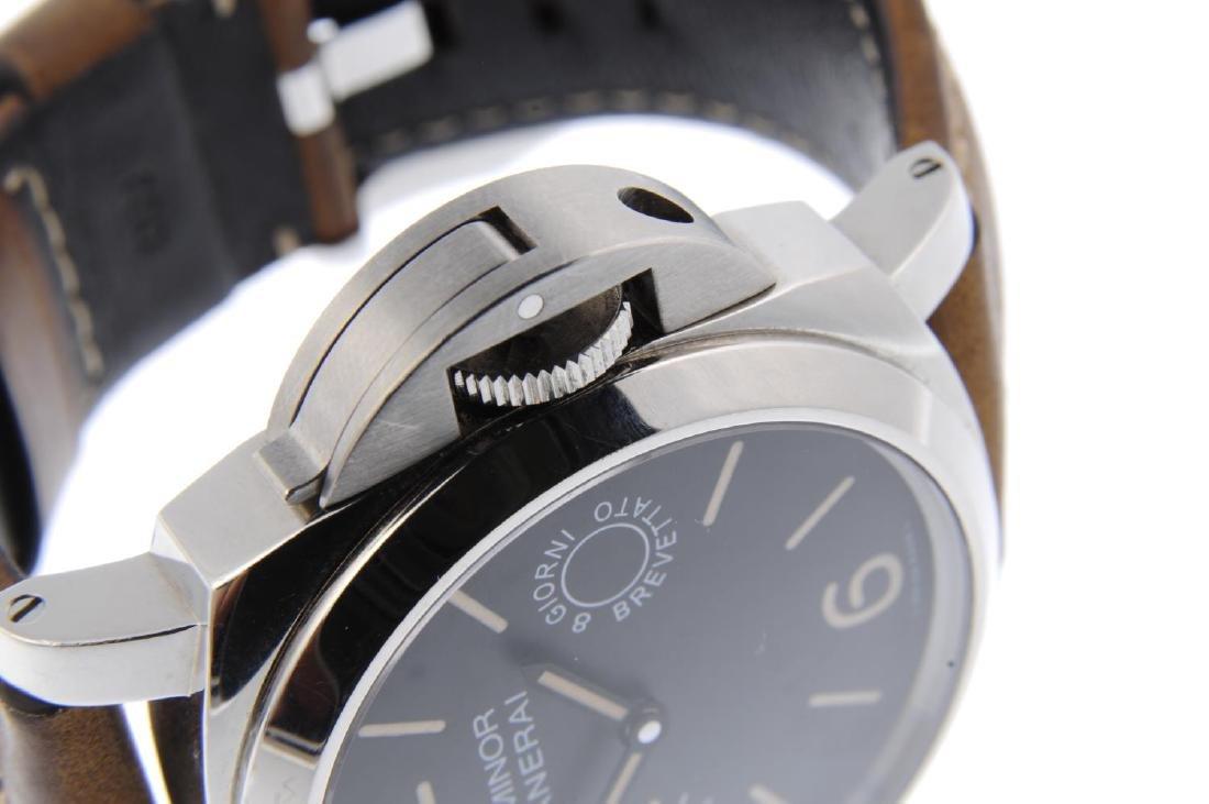 PANERAI - a gentleman's Luminor 8 Days wrist watch. - 4