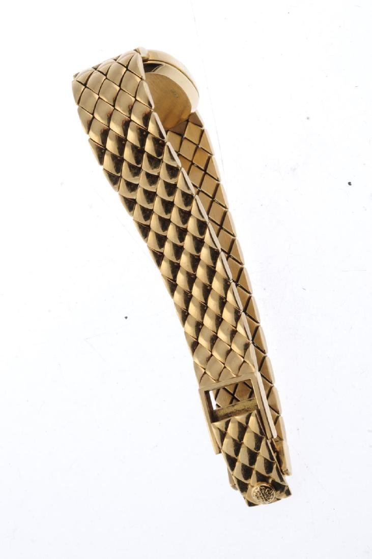PATEK PHILIPPE - a lady's Ellipse bracelet watch. 18ct - 2