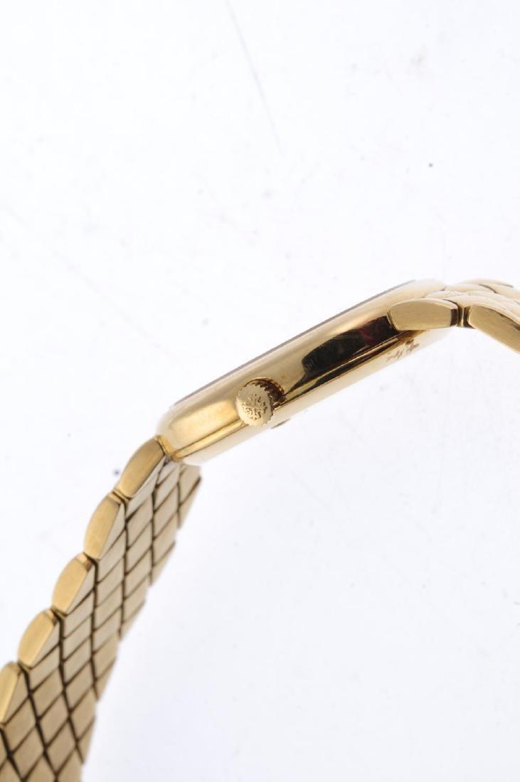 PATEK PHILIPPE - a lady's Ellipse bracelet watch. 18ct - 3