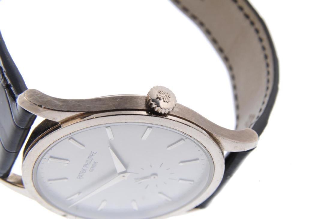 PATEK PHILIPPE - a gentleman's Calatrava wrist watch. - 4
