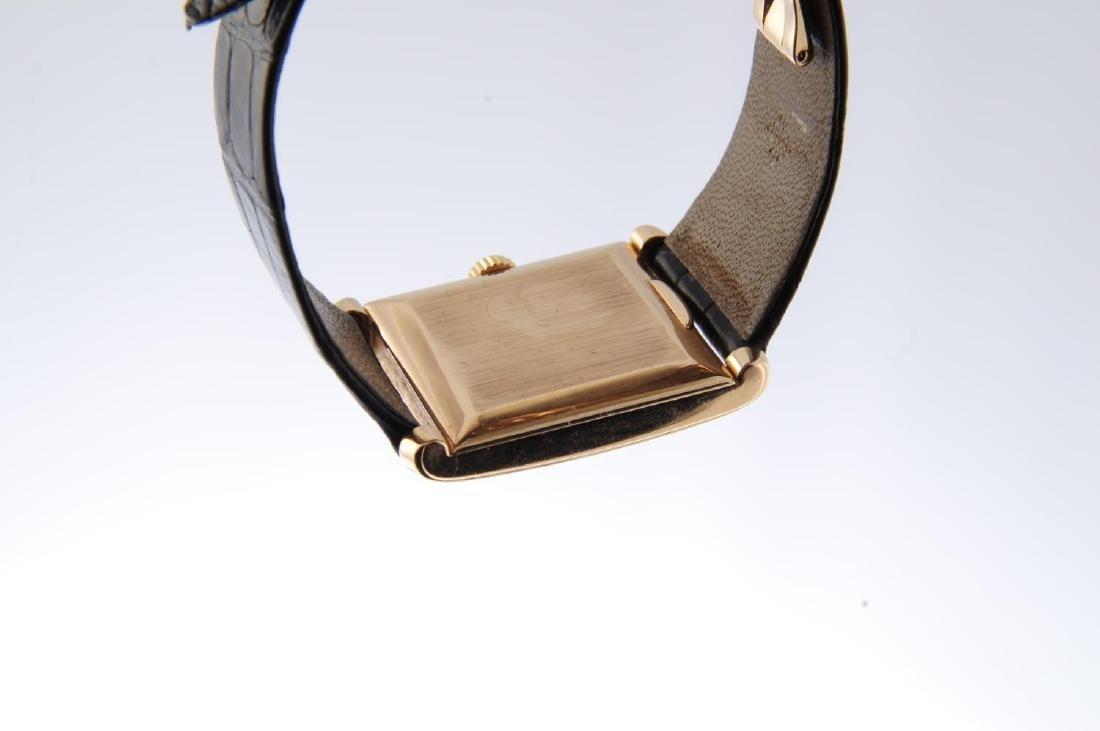 PATEK PHILIPPE - a gentleman's Rectangular wrist watch. - 3