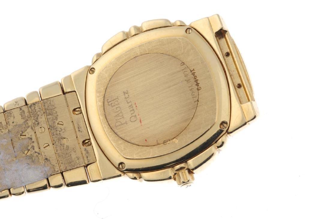 PIAGET - a gentleman's Tanagra bracelet watch. 18ct - 2