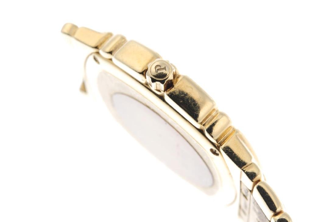 PIAGET - a gentleman's Tanagra bracelet watch. 18ct - 3