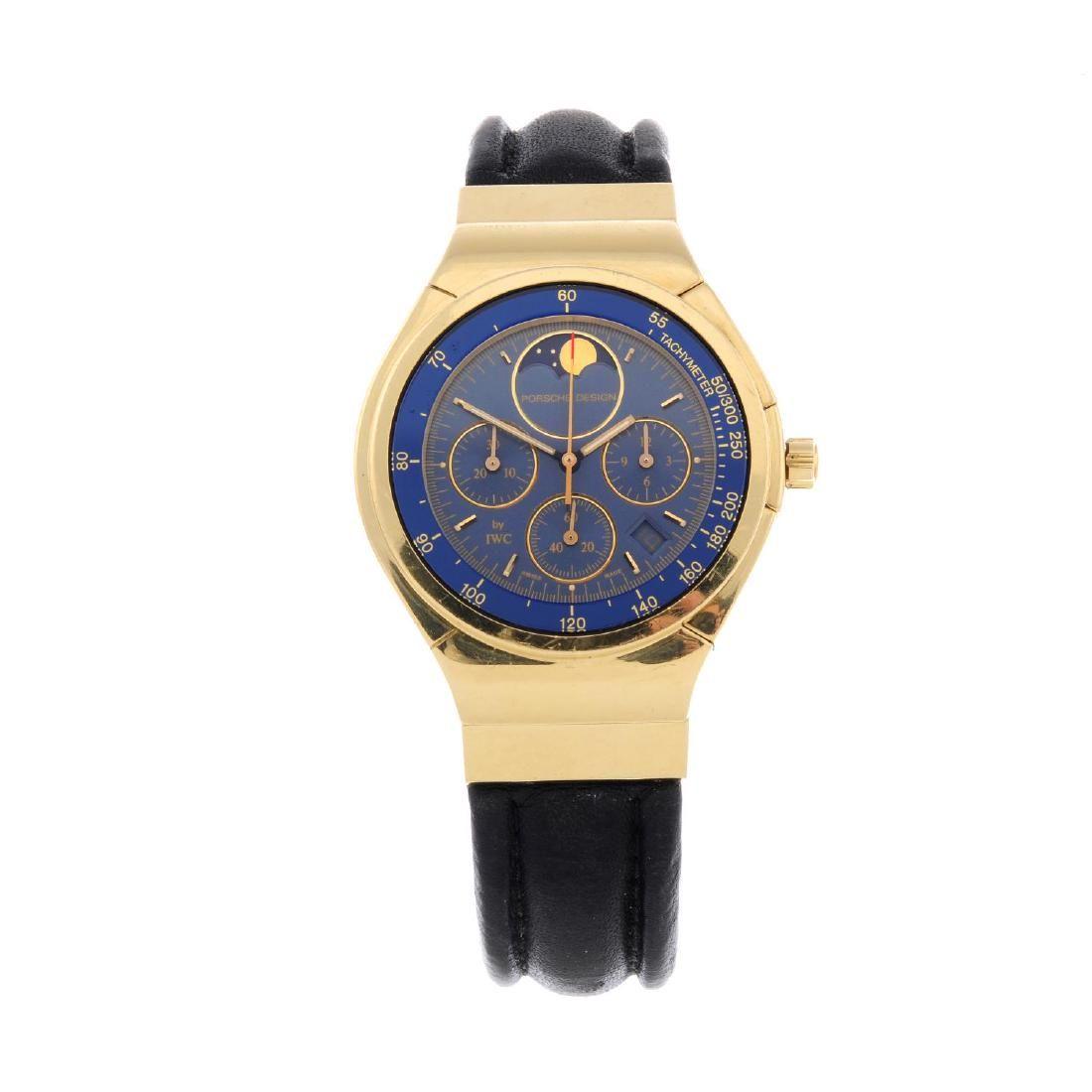 PORSCHE DESIGN BY IWC - a gentleman's chronograph wrist