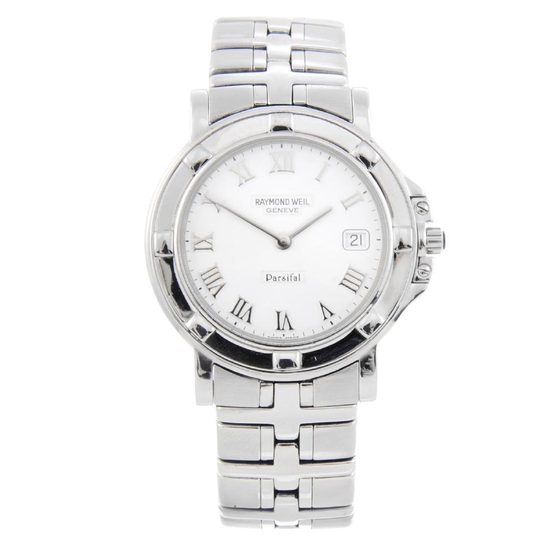 RAYMOND WEIL - a gentleman's Parsifal bracelet watch.