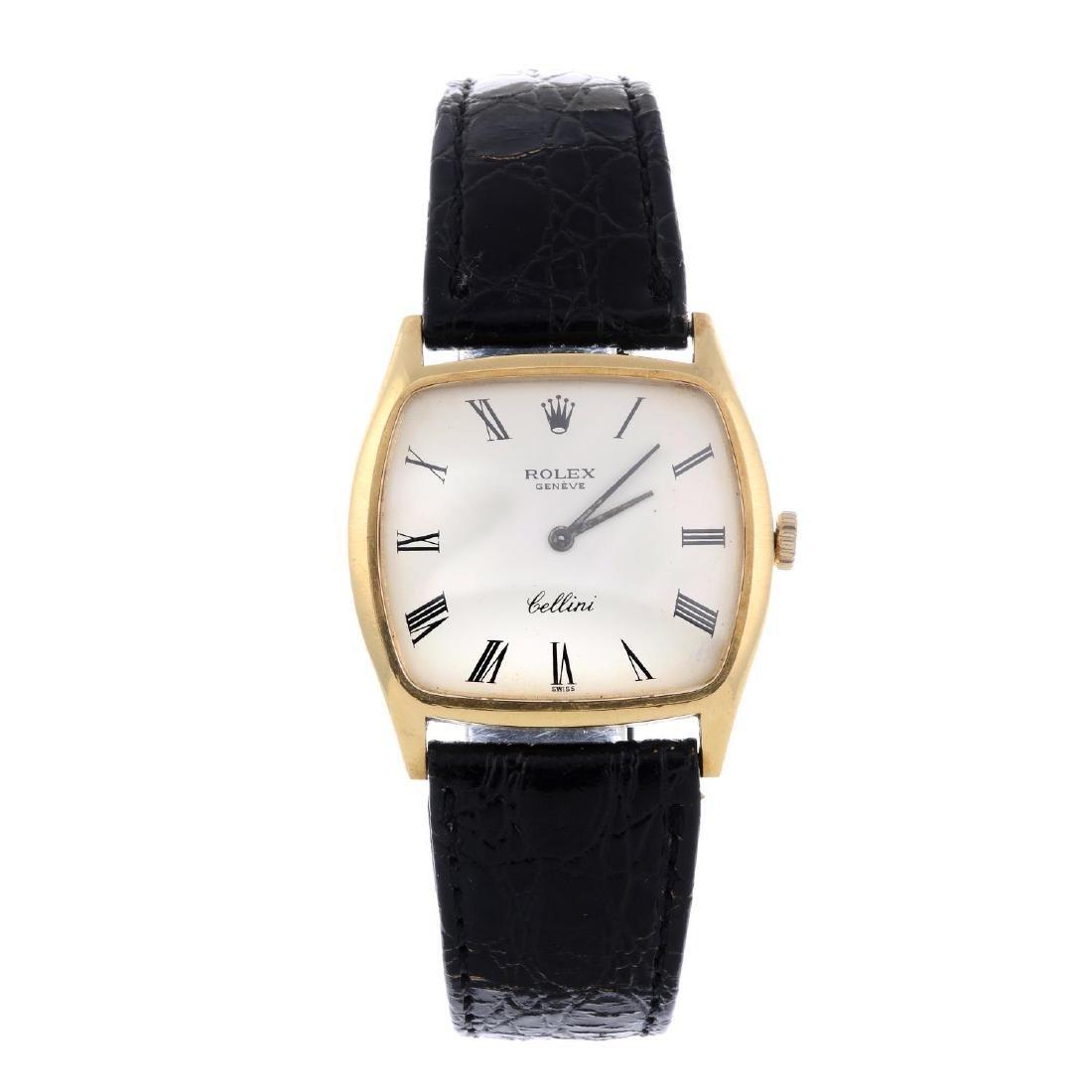 ROLEX - a gentleman's Cellini wrist watch. Circa 1970.