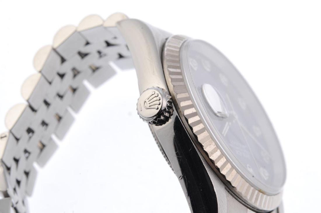 ROLEX - a gentleman's Oyster Perpetual Datejust - 3
