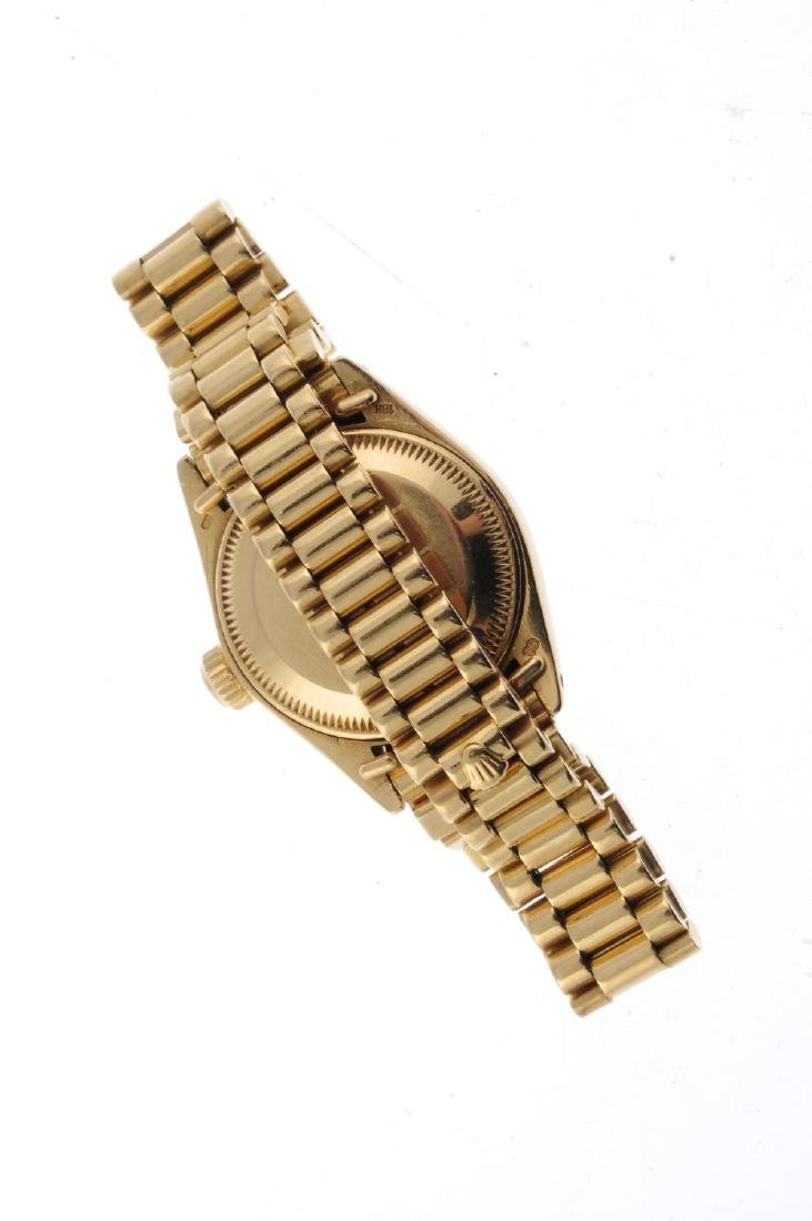 ROLEX - a lady's Oyster Perpetual Datejust bracelet - 2