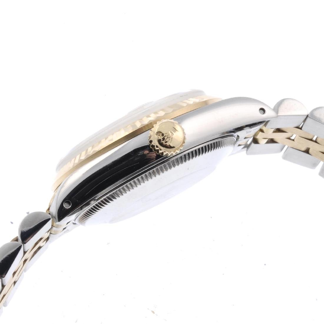 ROLEX - a mid-size Oyster Perpetual Datejust bracelet - 2