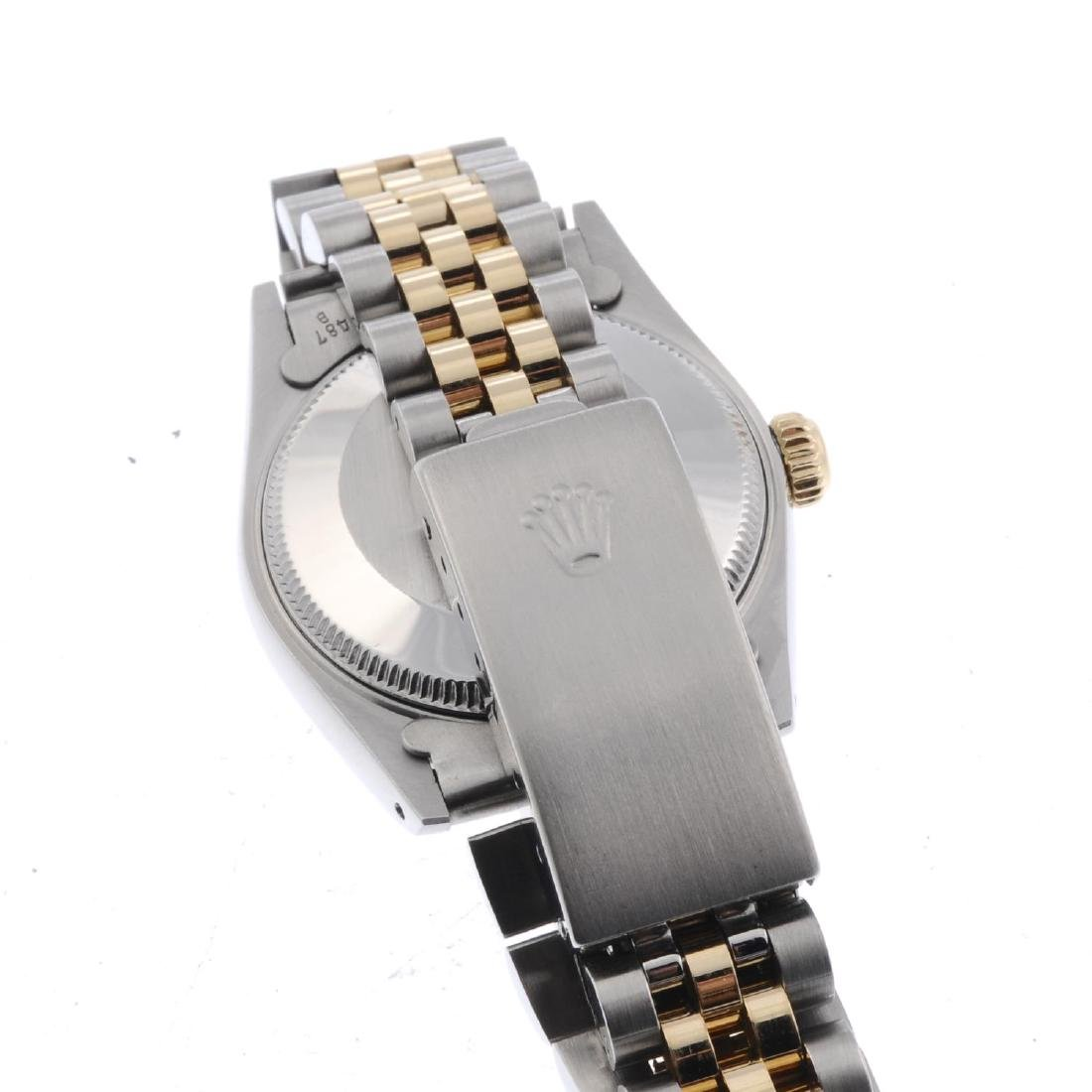 ROLEX - a mid-size Oyster Perpetual Datejust bracelet - 3
