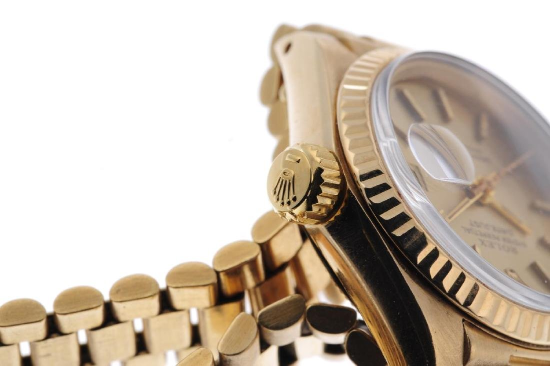 ROLEX - a lady's Oyster Perpetual Datejust bracelet - 4