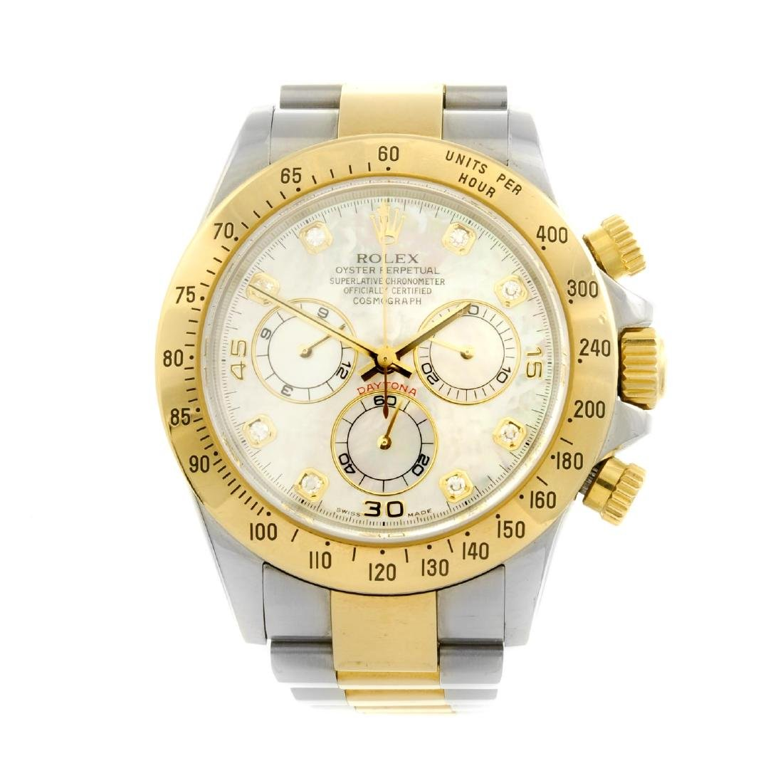 ROLEX - a gentleman's Oyster Perpetual Cosmograph