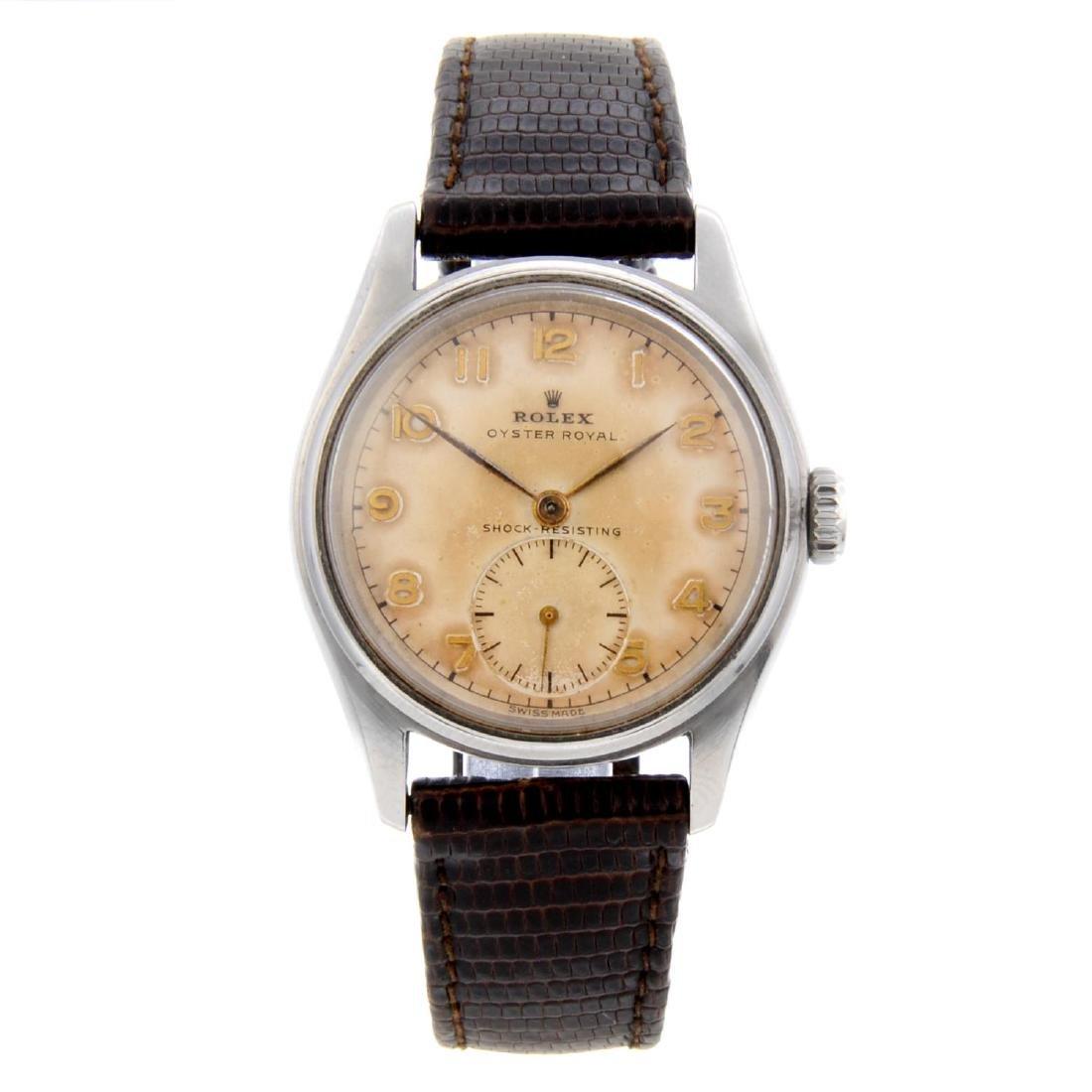 ROLEX - a gentleman's Oyster Royal wrist watch. Circa