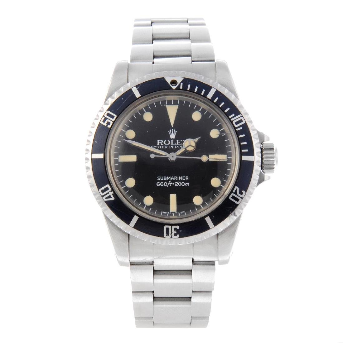 ROLEX - a gentleman's Oyster Perpetual Submariner
