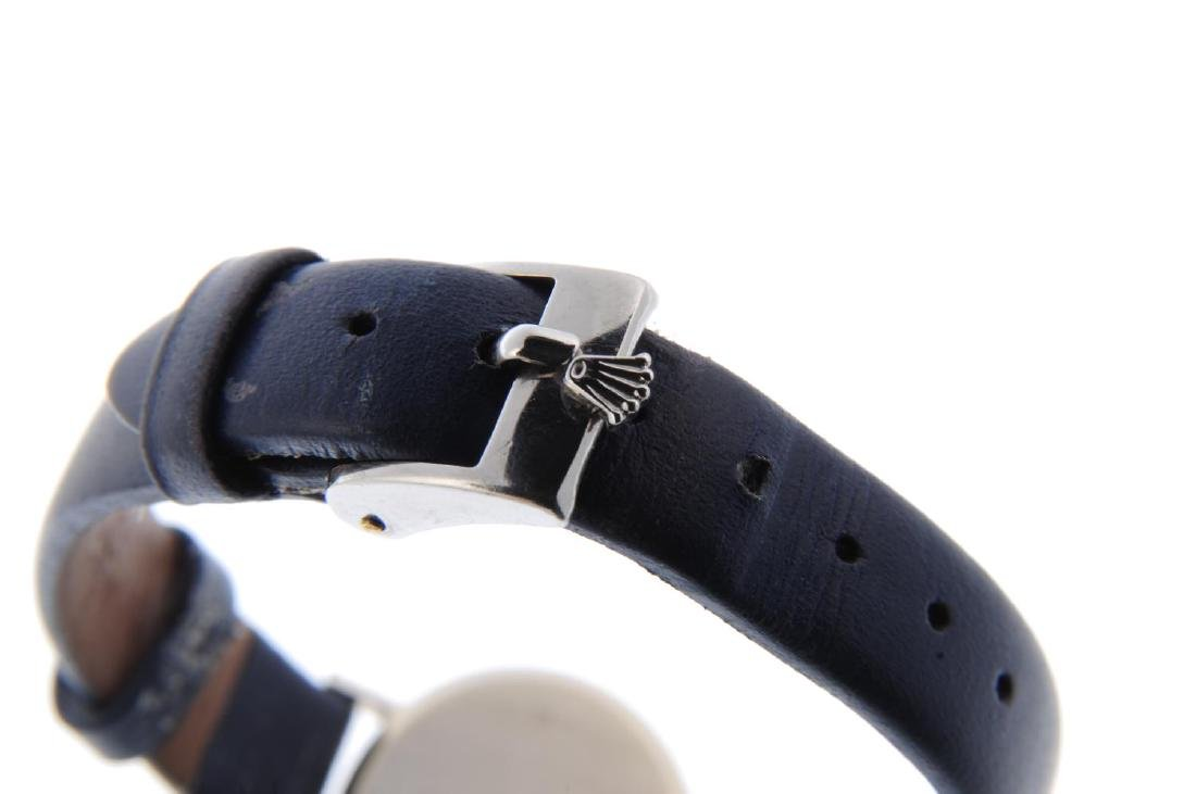 ROLEX - a lady's Cellini wrist watch. Circa 1981. 18ct - 2