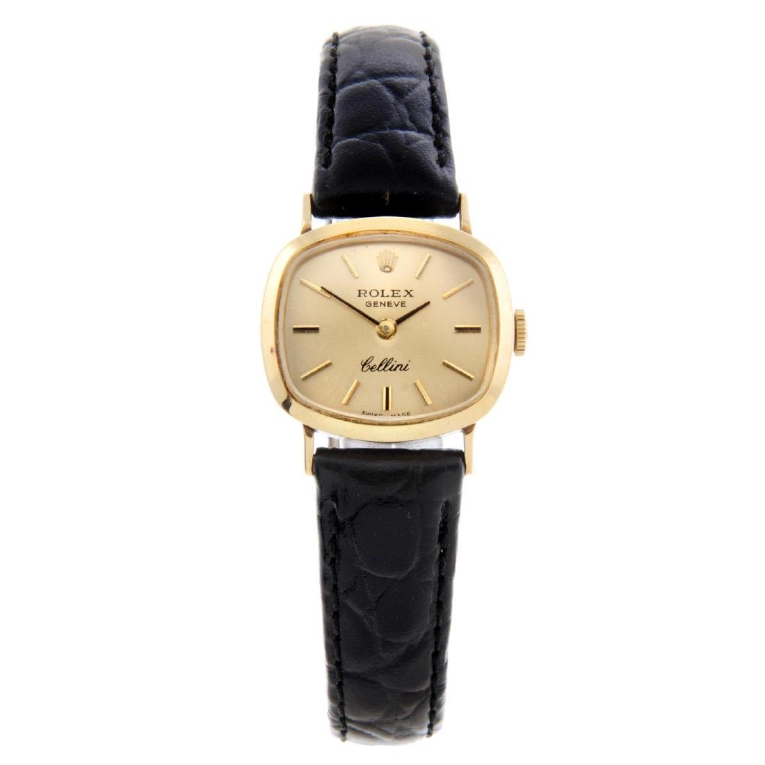 ROLEX - a lady's Cellini wrist watch. Circa 1971.