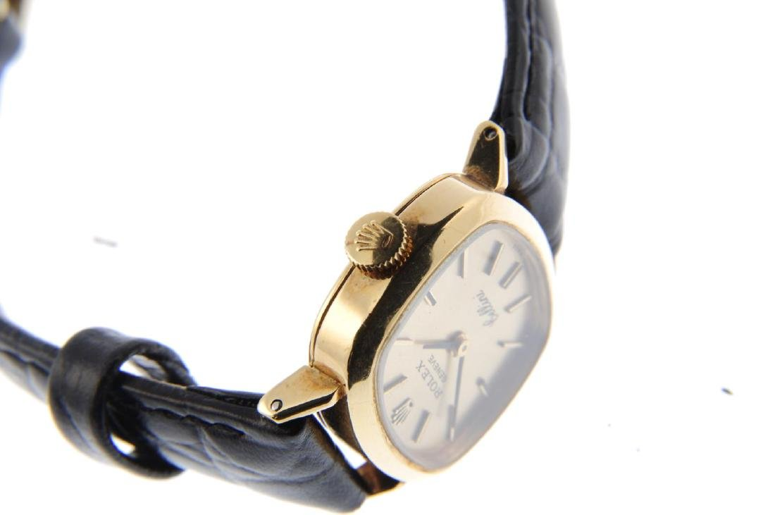 ROLEX - a lady's Cellini wrist watch. Circa 1971. - 4