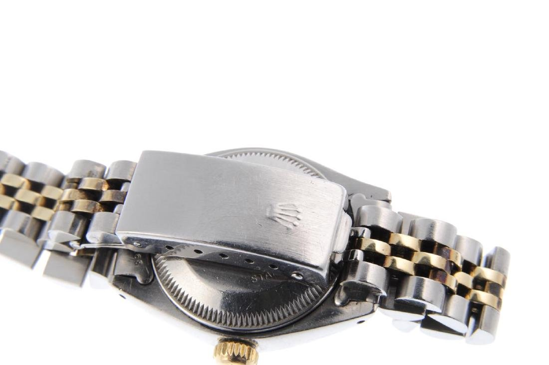 ROLEX - a lady's Oyster Perpetual Date bracelet watch. - 2