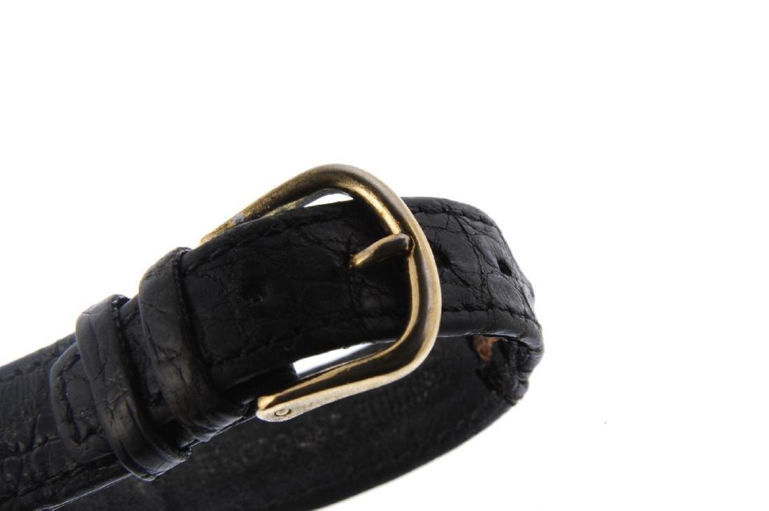 ROLEX - a gentleman's Precision wrist watch. 9ct yellow - 2