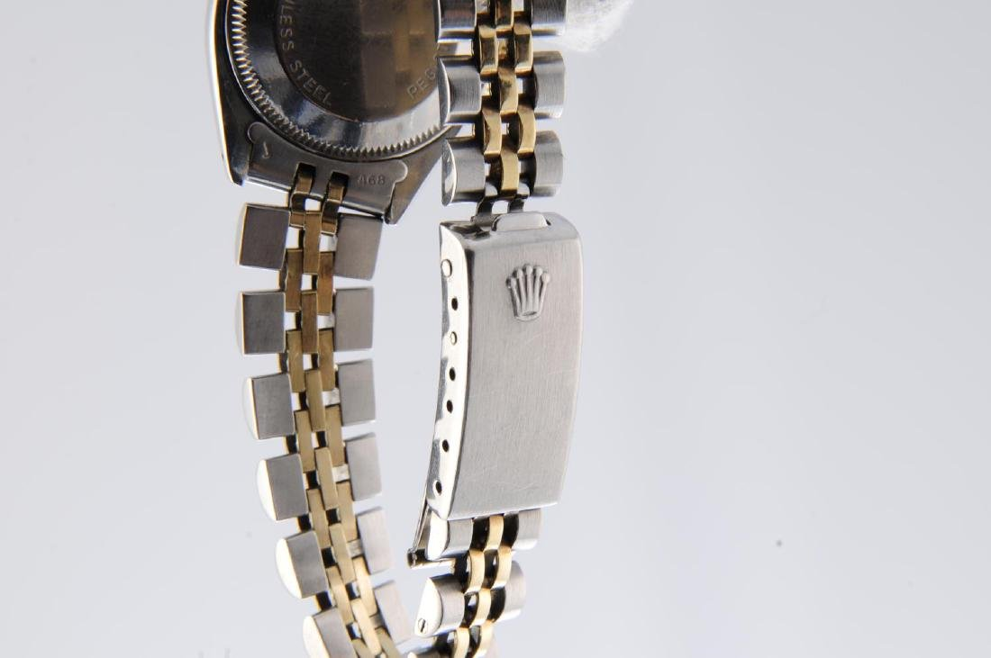 ROLEX - a lady's Oyster Perpetual Date bracelet watch. - 4