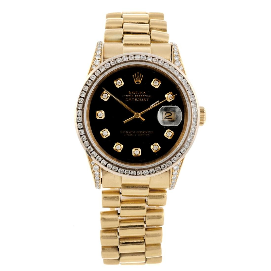 ROLEX - a gentleman's Oyster Perpetual Datejust