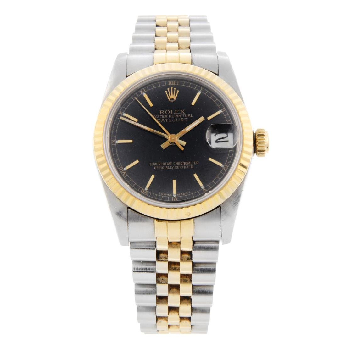 ROLEX - a mid-size Oyster Perpetual Datejust bracelet
