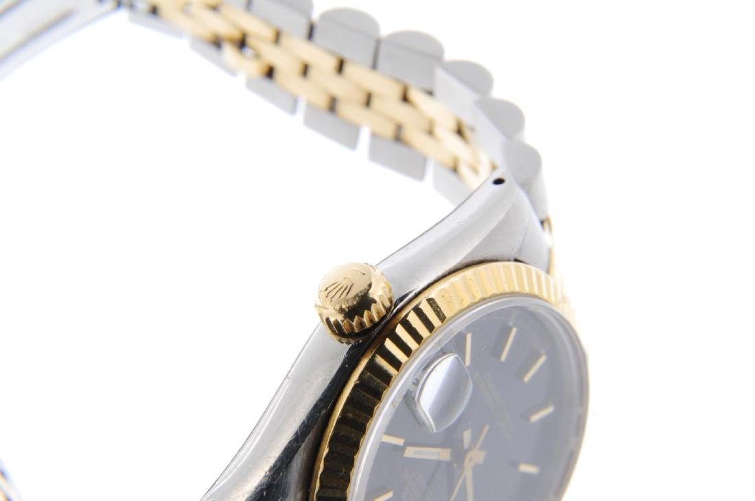 ROLEX - a mid-size Oyster Perpetual Datejust bracelet - 4