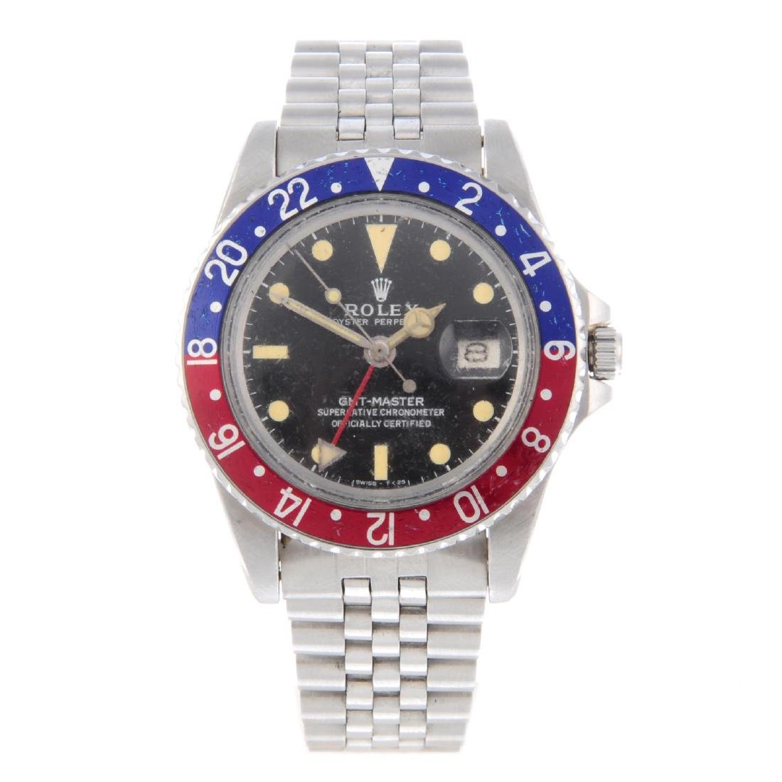 ROLEX - a gentleman's Oyster Perpetual GMT-Master