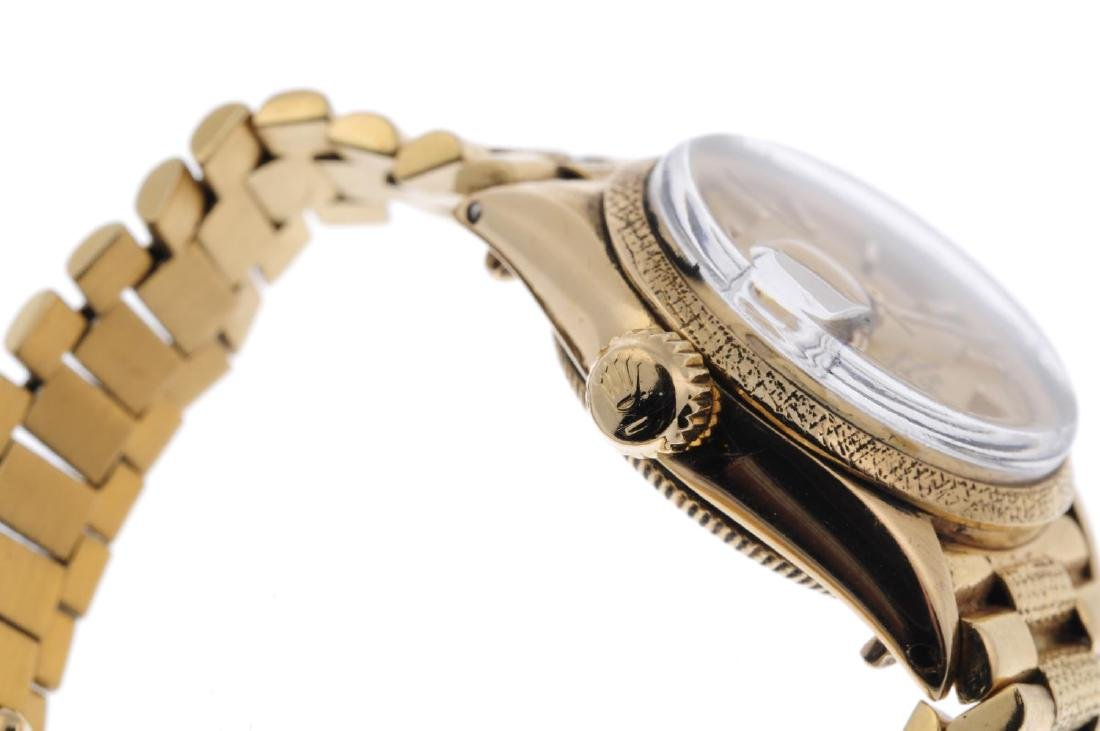 ROLEX - a lady's Oyster Perpetual Date bracelet watch. - 3